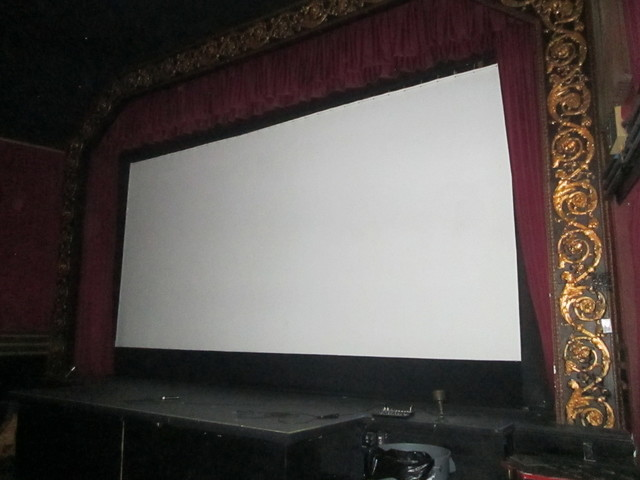 Nice Size Screen Vogue Theatre SF