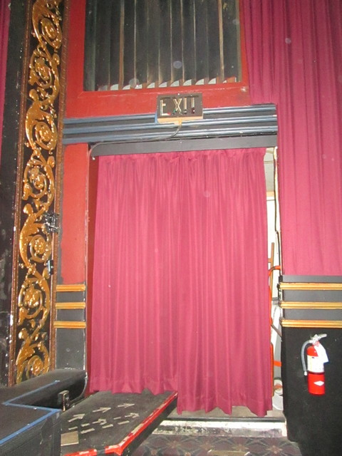 Right Side Screen Exit Vogue Theatre