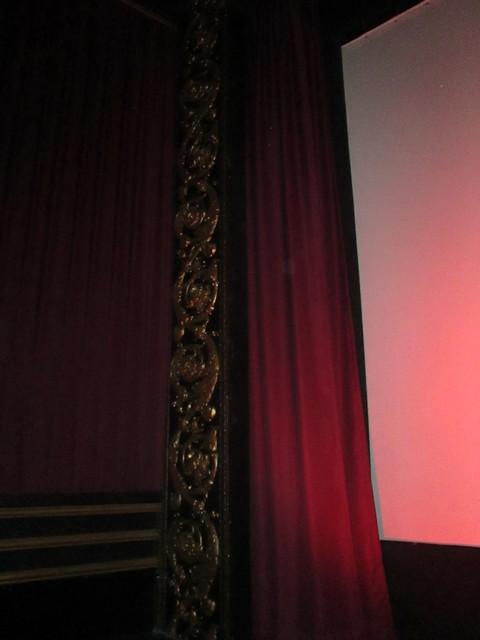 Left Side Screen Area Vogue Theatre