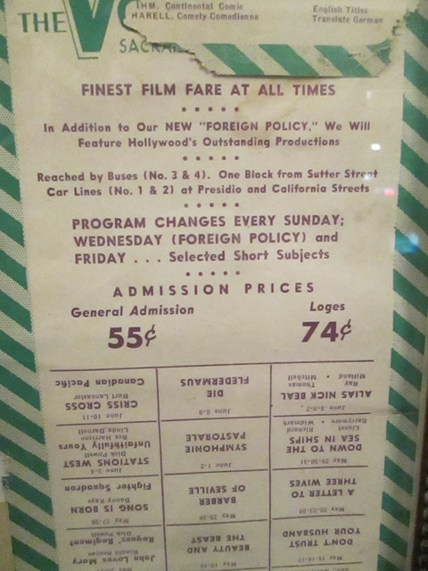 More Theatre Ads From The Past