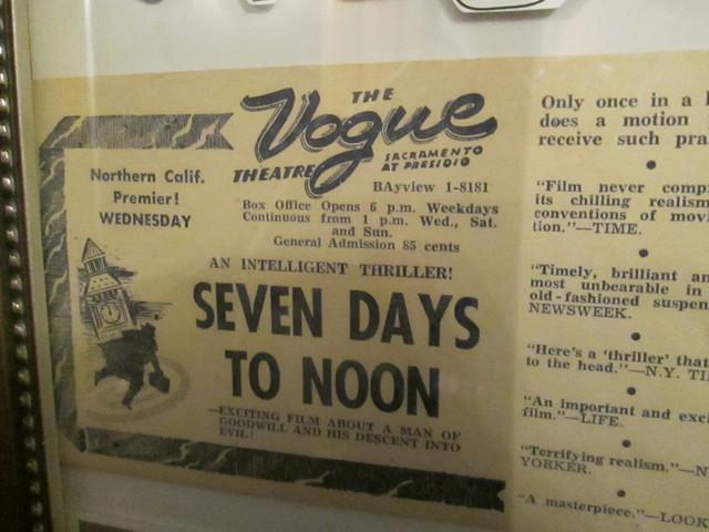 Past Vogue Theatre Ads