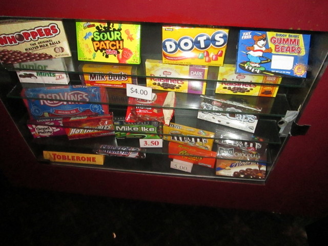 Vogue Theatre Candy Display