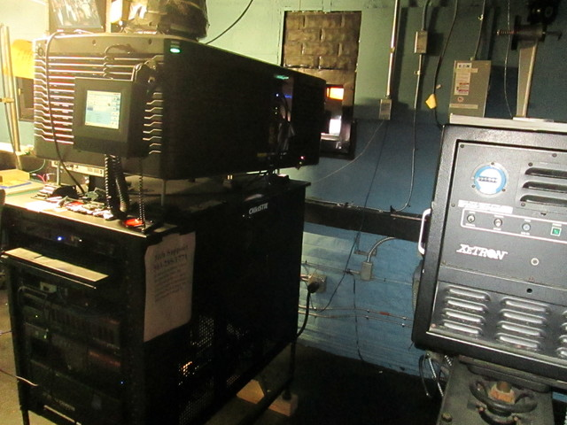 More Projection Room Photos Vogue Theatre