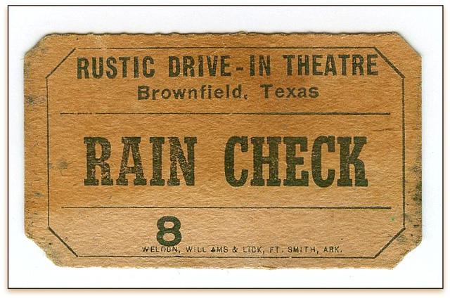 Rustic Drive-In