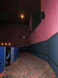 Back Of Downstairs Cinema #1 Empire Theatre  Surround Speakers
