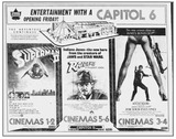 Capitol 6 1981 Opening Advertisement