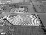 <p>Aerial of the 66 Drive-In credit Sangamon Valley Collection.</p>