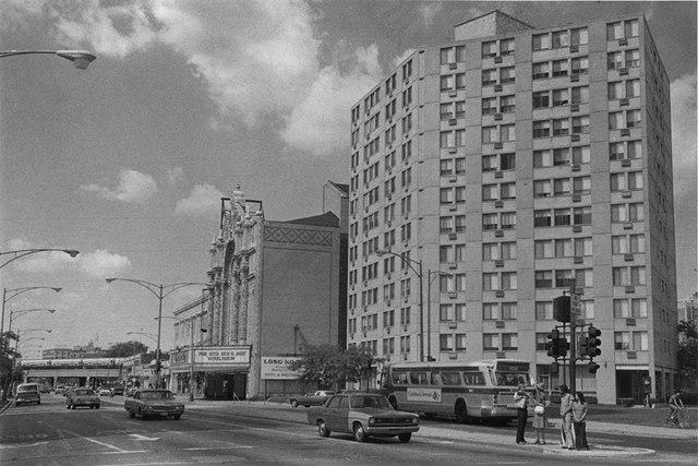 1977 photo credit & courtesy Rogers Park/West Ridge Historical Society.