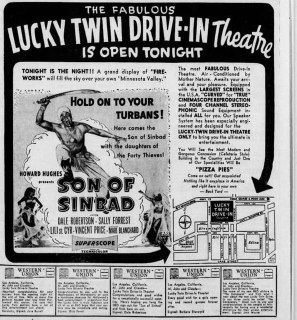 lucky twin drive in in burnsville mn cinema treasures