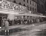 STARS & STRIPES FOREVER premiere night NYC ROXY 1952