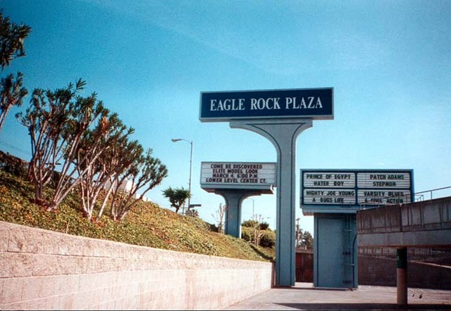 Eagle Rock Plaza Theatre (Signage & Marquee)