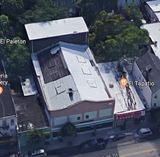 2018 aerial view of the City Theatre.