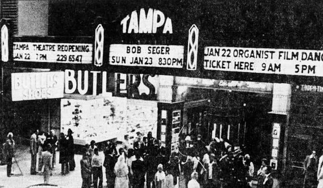 1977 reopening photo credit Tampa Tribune.