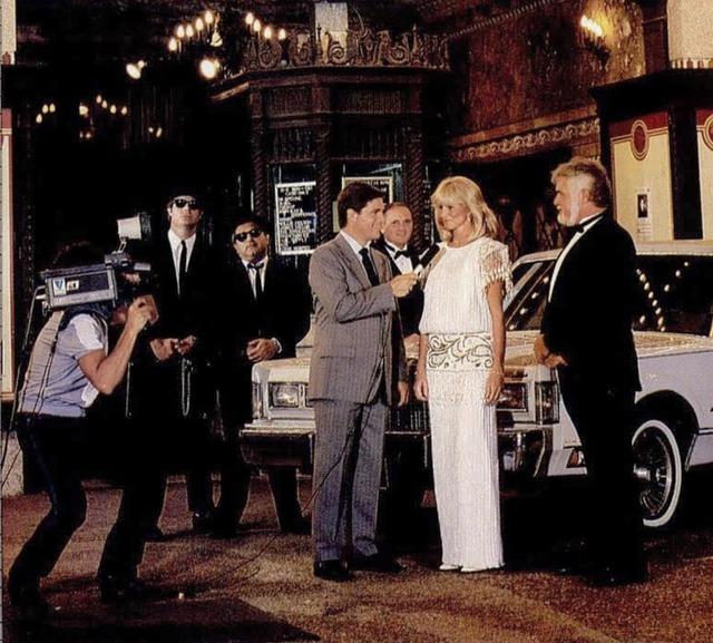 Celebrity impersonators at the Tampa Theatre, 1980s photo credit Tampa Tribune.