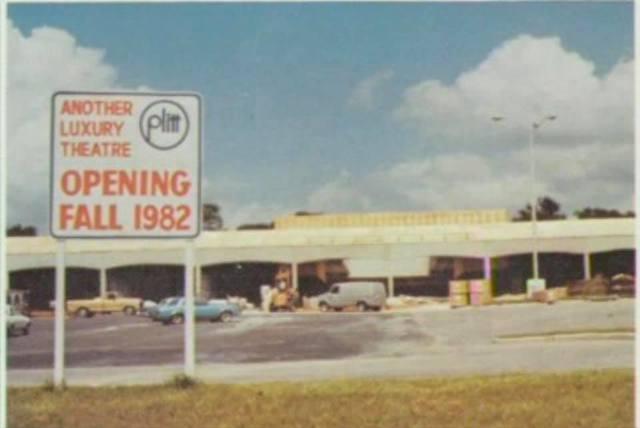Plitt IV under construction 1981, via Florida Scenes.