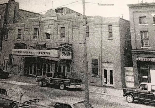 Mid `60s photo credit Augusta Colonial Theater Facebook page.