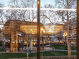 Odeon Leicester Square – 2018 Refurbishment – Early Evening View Across Leicester Square.