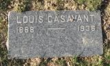 LOUIS CASAVANT(tomb stone)