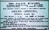 OPENING OF PALACE RUNCORN