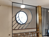 Odeon Leicester Square – 2018 Refurbishment – Ground Floor Foyer – Right Wall – Clock.