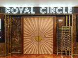 Odeon Leicester Square – 2018 Refurbishment – Circle Lounge – Entrance to Royal Circle.