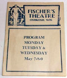 FISCHER (RAULF, PLAZA) Theatre; Oshkosh, Wisconsin.