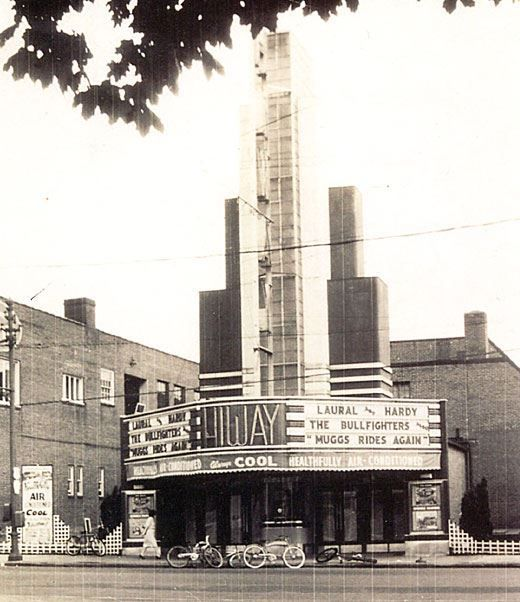 Hiway Theater, York PA 1945