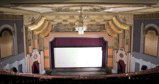 2005 Auditorium showing movie screen