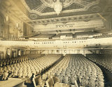 &lt;p&gt;1928 photo. Lavishly decorated, the auditorium opened with 2450 seats (1536 orchestra, 914 balcony) and great acoustics. Every seat has a perfect sightline of the stage &amp; screen. Copyright: The Irvin R. Glazer Collection, Athenaeum of Philadelphia. The fixtures are currently in storage off site.&lt;/p&gt;