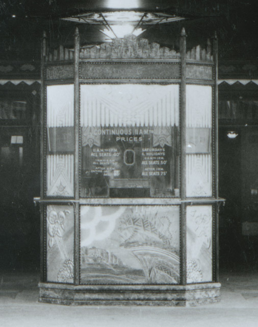 1928 Boyd ticket booth