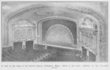 1926 View of Capitol Theater Interior