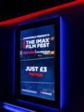 Cineworld – Empire Theatre Leicester Square – IMAX Festival Advert.