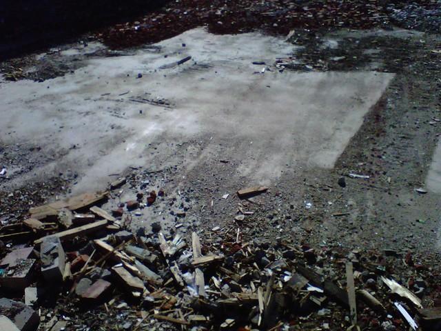 Clark Theatre demolition