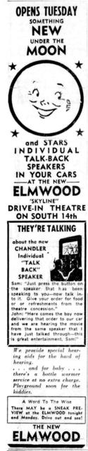 Elmwood Skyline Drive in gets new two-way speakers
