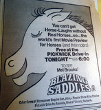 "Pacific's Pickwick Drive-In ""Blazing Saddles"" event"