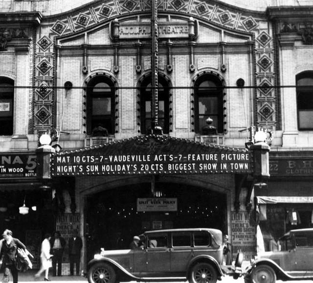 Adolphus Theatre exterior