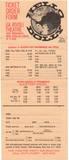 """[""""NYC Rivoli THeatre Hello Dolly! ticket order form 1970""""]"""