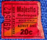 MAJESTIC Theatre; Sheboygan, Wisconsin.