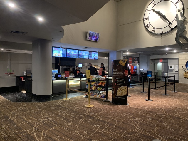 New lower level stand theatres 10 to 12