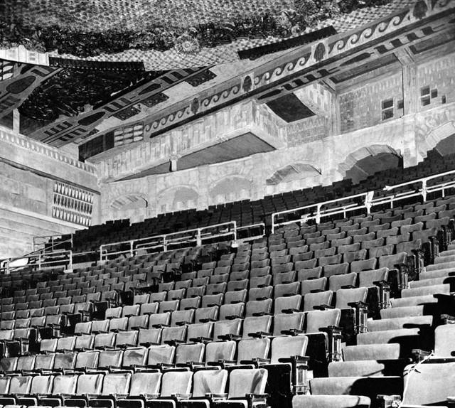 Paramount Theatre balcony
