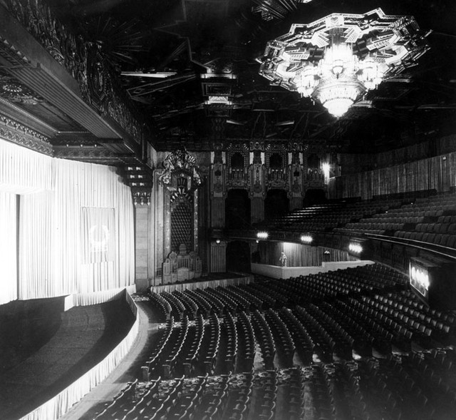 Pantages Theatre auditorium (Note: Seating reduced for