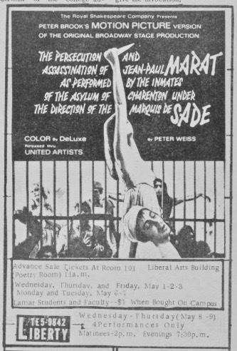 Marat Sade May 1968