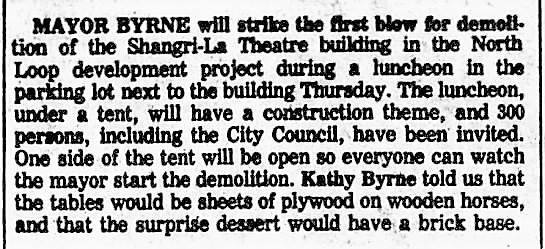 May 17, 1981 Chicago Tribune Archive.