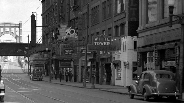 1931 photo as the Alvin courtesy The Odd, Mysterious & Fascinating History of Pittsburgh.