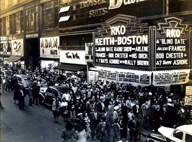 1944 photo courtesy Old School Boston facebook page.