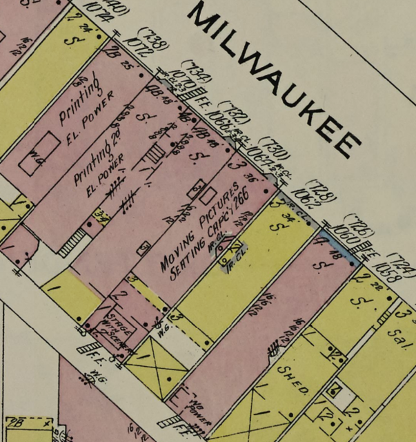 Sanborn Map 1914
