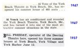 News bits regarding York Beach Cinema