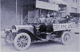 Old truck kewanee Dreamland advert