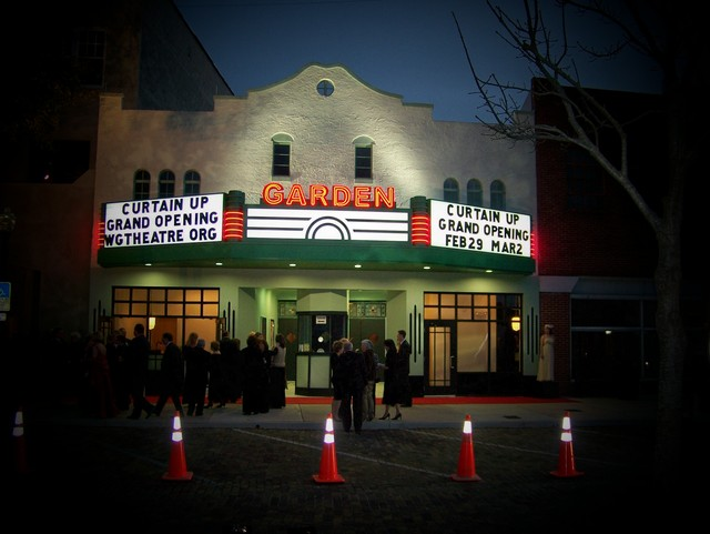 Garden Theatre on Opening Night