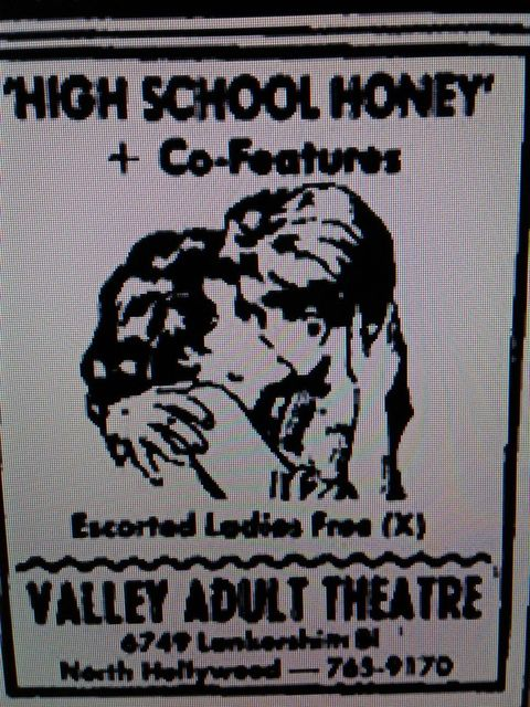Newspaper ad for the